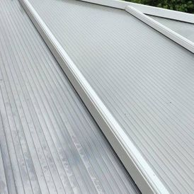 A conservatory roof that has been cleaned by our experts