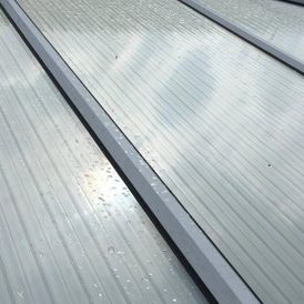 A clean conservatory roof