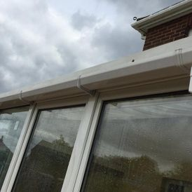 Guttering cleaned by our staff