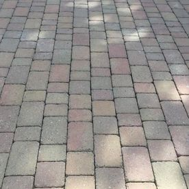 block paving that has been cleaned by our team